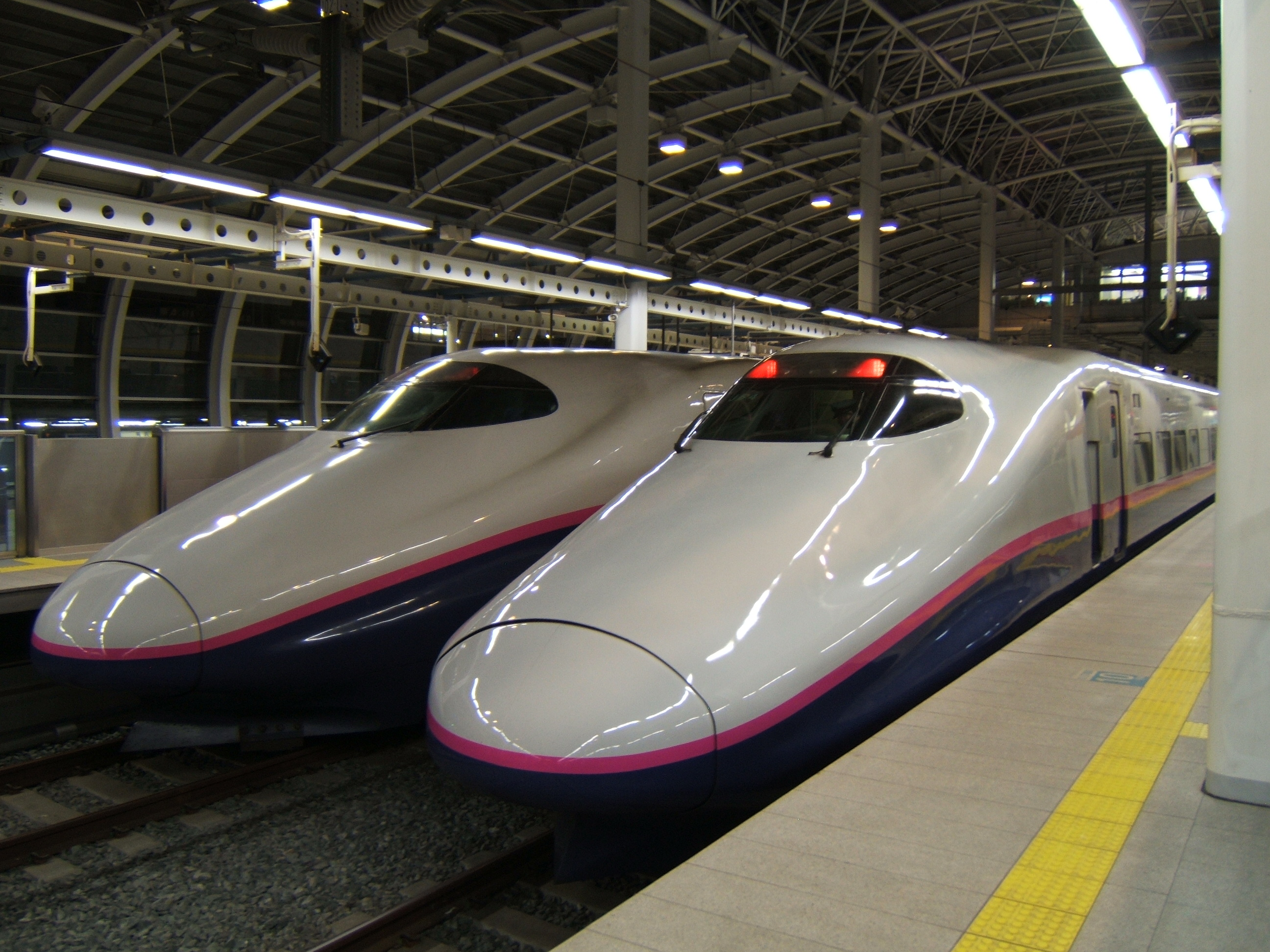 photo of shinkansen